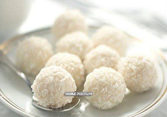 Кокосовые конфеты Рафаэлло (Raffaello) за 10 минут