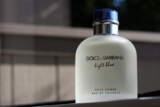 Dolce & Gabbana Light Blue for men - This will be a great cologne for my husband when he's older.