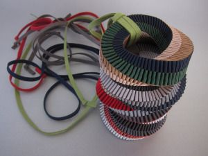Handmade ribbon jewellery