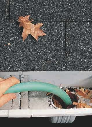 Tips for cleaning out clogged gutters and drain pipes--and to prevent them from…