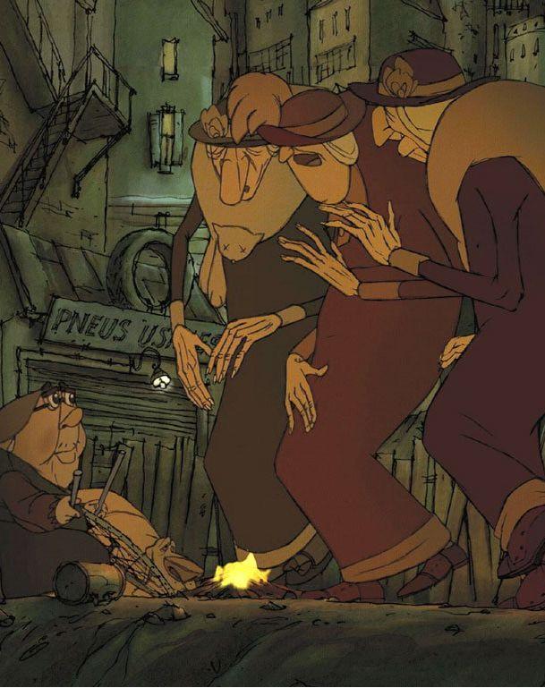 Les Triplettes de Belleville - 2003 - Sylvain Chomet