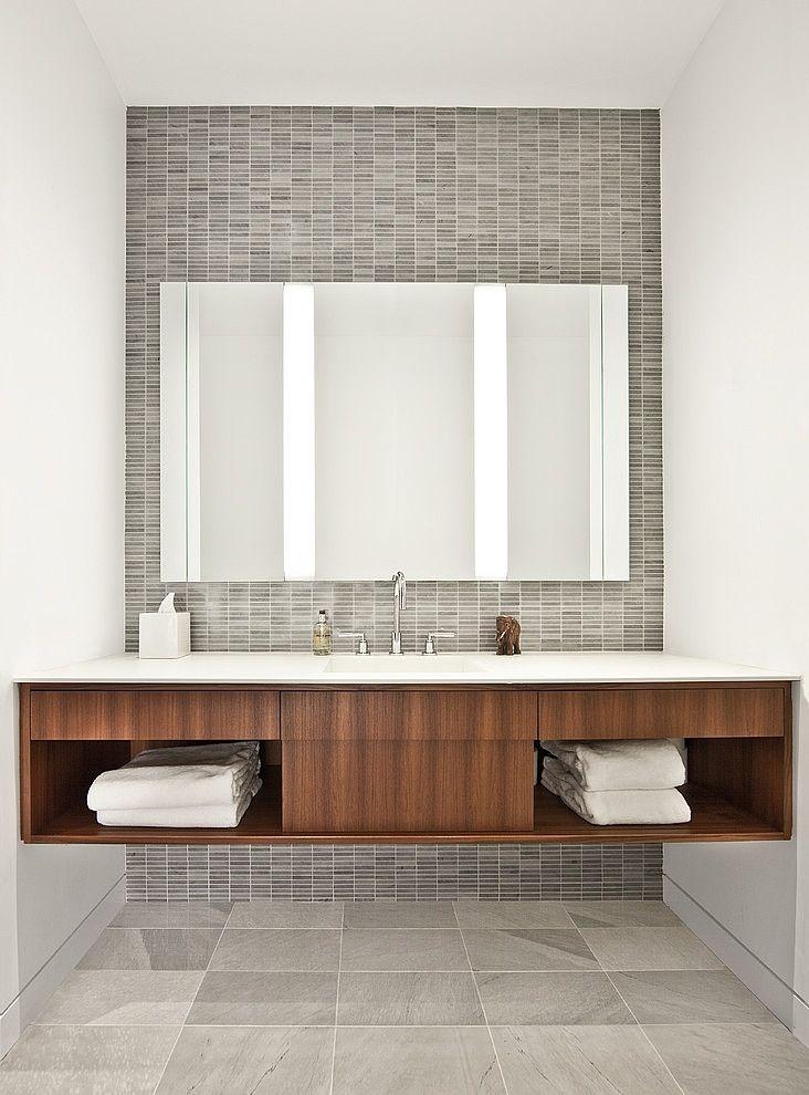 faux tile - <3 主浴洗手台牆面
