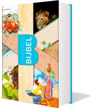 Samenlees Bijbel, je krijgt deze cadeau bij een maandelijkse steun van €5,00 aan het Nederlands bijbelgenootschap