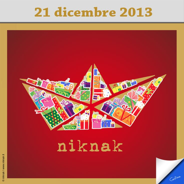 Christmas illustration by niknak | Christmas gift