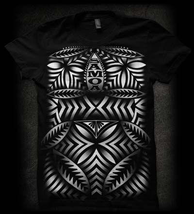Samoan black tee shirt samoa tee shirt pinterest for Tribal tattoo shirt