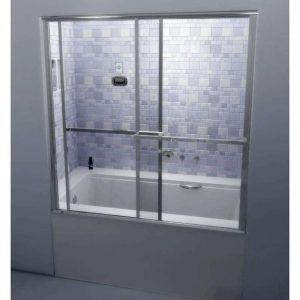 Best 25 Tub Shower Doors Ideas On Pinterest Glass