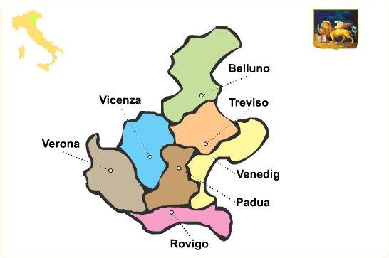 Region Venetien - Veneto Reiseführer http://www.italien-inseln.de/italia/venetien-veneto.html