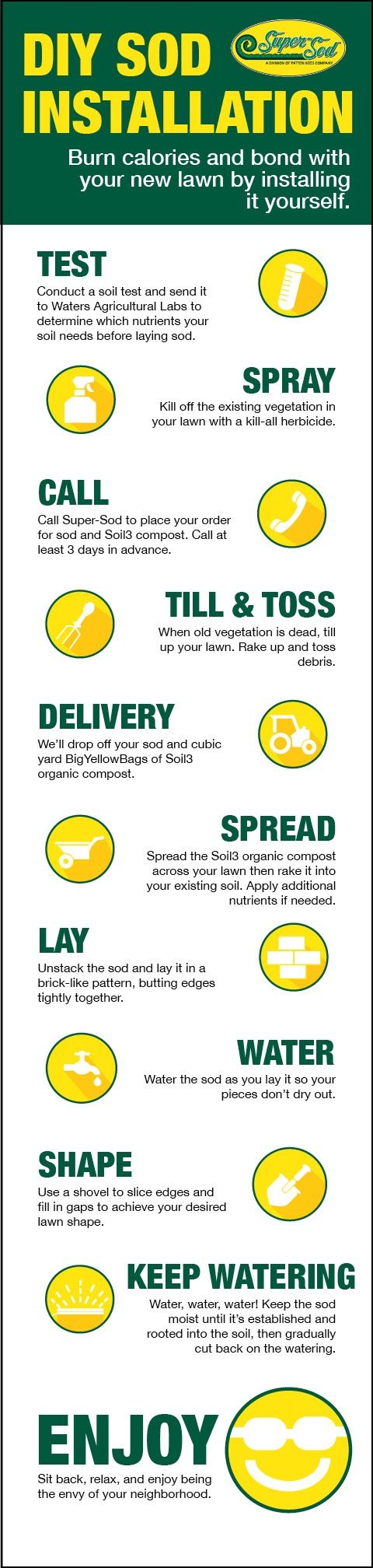 Diy Sod 125 Best Diy Lawn Care Images On Pinterest Lawn Care Lawns And