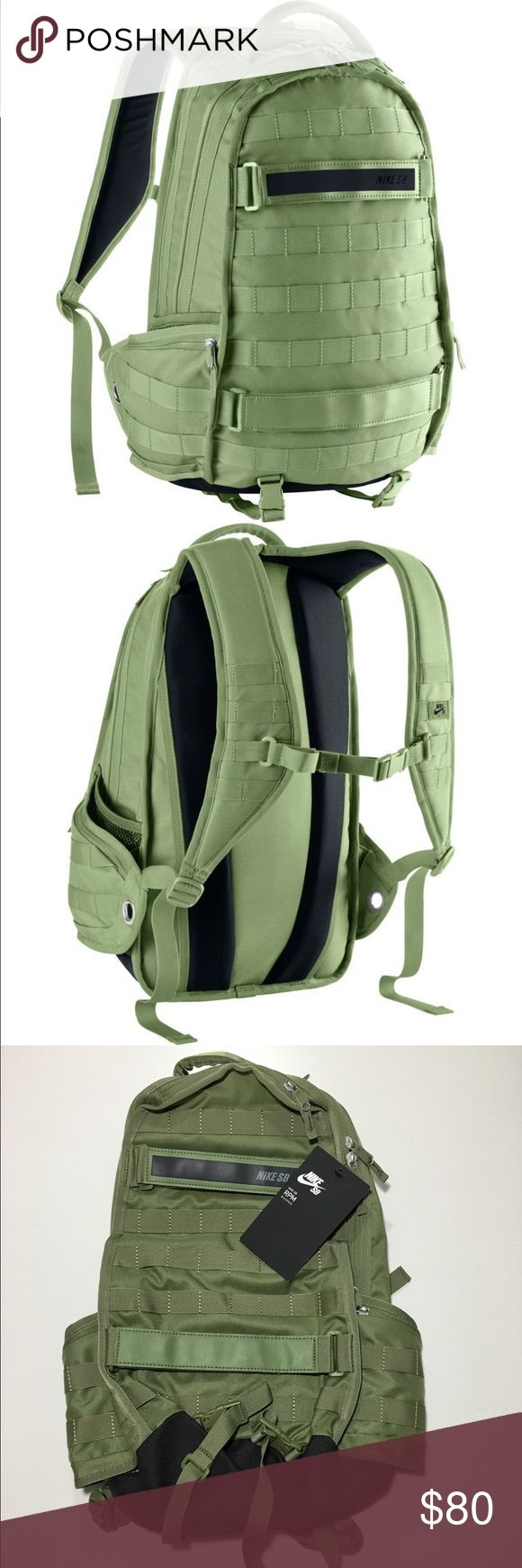 Nike SB RPM Skateboarding Backpack PALM GREEN ✅Brand new with tags. Directly from NIKE. ✅Will Ship Out Next Day (Mon-Fri) ✅Send any other ❓my way! No Trades sorry!.                            Thanks for looking! ✌ Nike Bags Backpacks