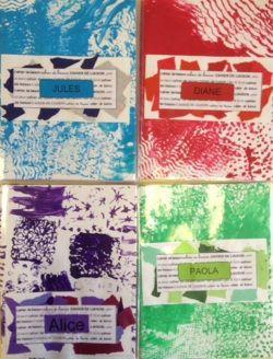 Couvertures de cahiers de liaison