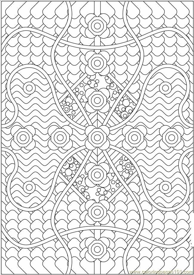 coloring page for kids and adults from other coloring pages pattern coloring pages - Printable Coloring Pages Patterns