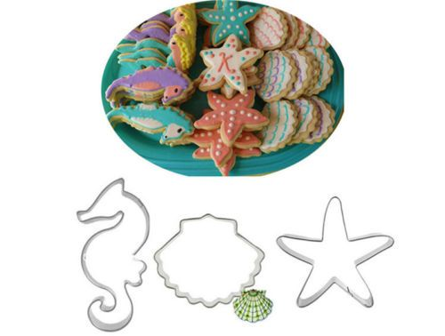 3pcs-Seahorse-Starfish-Shell-Cookie-Cake-Cutter-Mold-Biscuit-Pastry-Baking-Mould