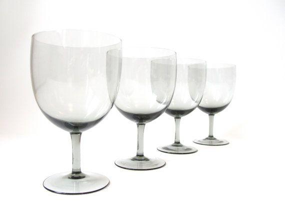 Four Exquisite Scandinavian Wine Glasses