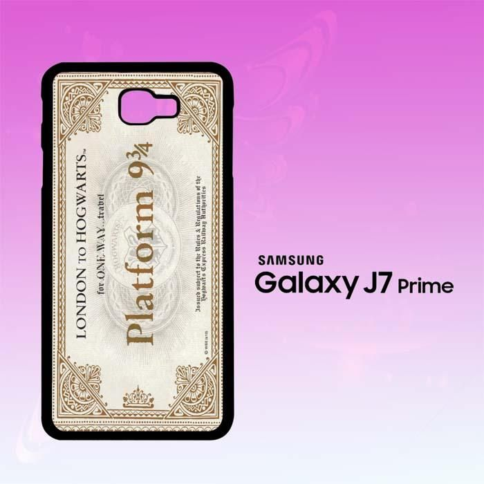 Harry Potter Ticket F0184 Samsung Galaxy J7 Prime Case