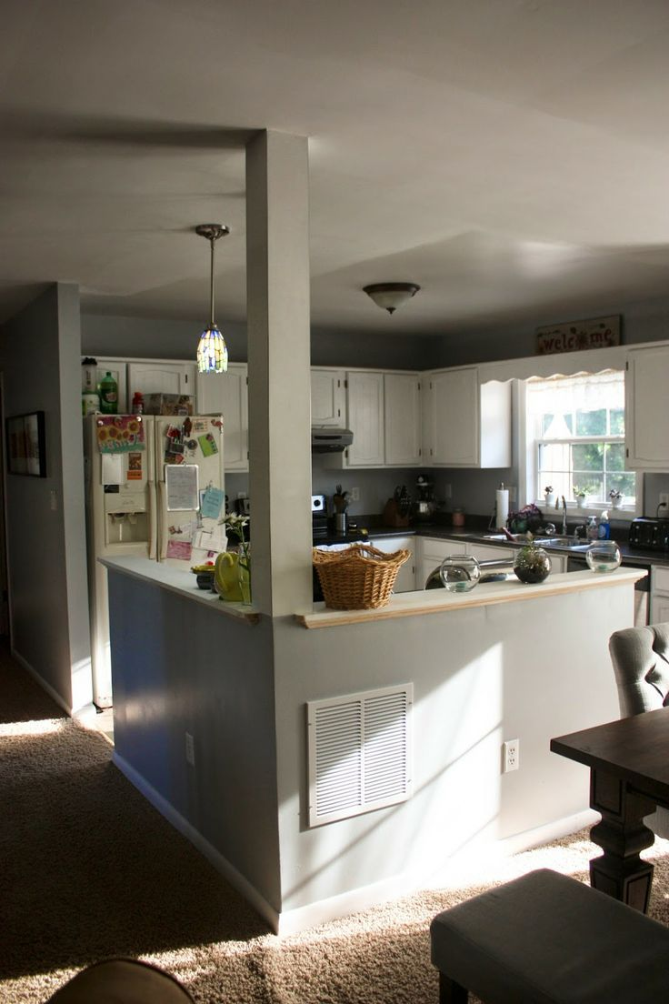 ... counters and paint) split foyer kitchen remodel, split level kitchen