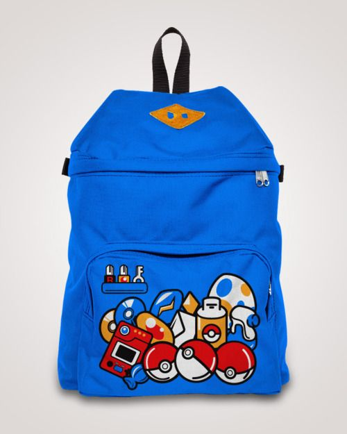 Pokemon Game Items Backpack