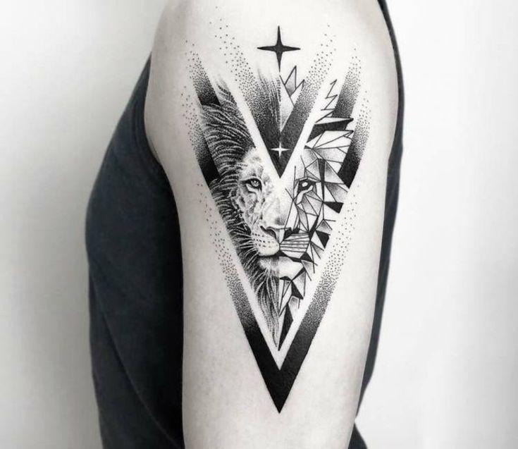 Tattoo Lion: Symbolismus und attraktive Designs des Löwentattoos für beide Geschlechter