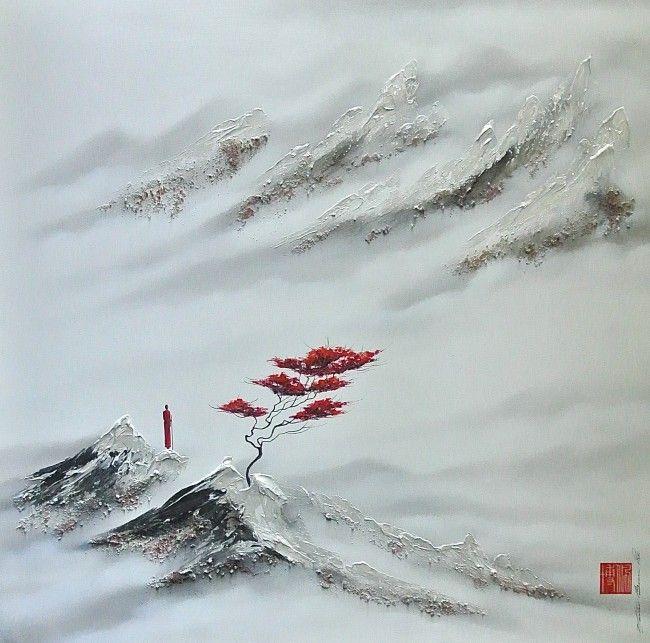 S'offrir la paix et l'harmonie Martin Beaupré artiste peintre ||