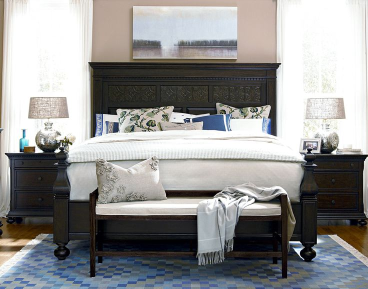 Universal Furniture Paula Deen Aunt Peggy 39 S Bedroom Set In Molasses Design Bedroom