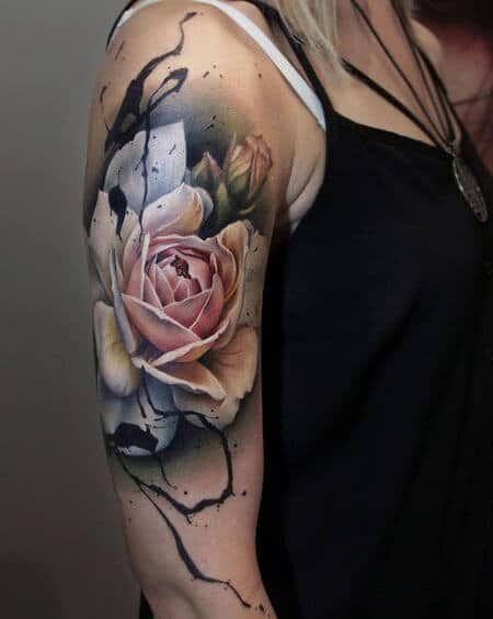 Archaisch und doch beliebt, die weiße Rose ist ei… – #Archaisch #background #… – Beau
