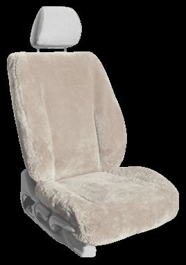 Shear Comfort Sheepskin Seat Covers for your car, truck or van. Our custom sheepskin seat covers provide year-round comfort. Free shipping. Order now online or call the toll-free number: 1-800-663-7750. Sale on Now!