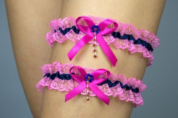 Hot Pink Garter Set Wedding Garters Bridal Garter Set,Crystal Rhinestone /&Pearl,Vintage Inspired Garter,Ivory,Hot Pink,Vintage Lace Garter