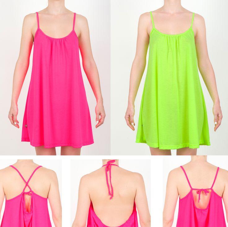Mini jersey Dress in fluo colour. #MiniSize #WomanCollection #Spring #Summer #SS14  http://www.minisize-sissychristidou.gr/el/women/prasino-mplouzoforema-gunaikeio.html http://www.minisize-sissychristidou.gr/el/women/fouksia-mplouzoforema-gunaikeio.html