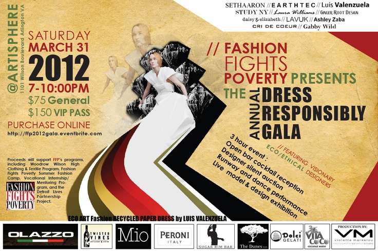 Can't wait for this eco-fashion event for good causes!Ecofashion Events, Graphics Design, Fashionista Adventure, Eco Fashion Events, Design Layout
