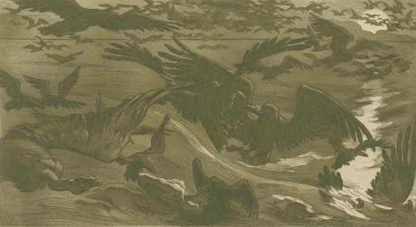 Birds of Prey (Oiseaux de proie), 1893, Emile Victor Prouvé, Van Gogh Museum, Amsterdam (Vincent van Gogh Foundation)