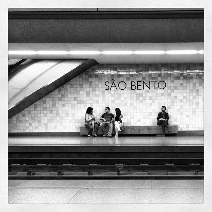 Porto - Sao Bento underground station