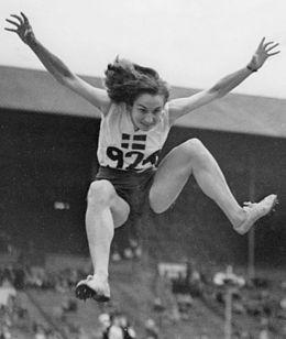 Ann-Britt Leyman   Ann-Britt Leyman – Wikipedia. Brons i längdhopp vid OS i London 1948.