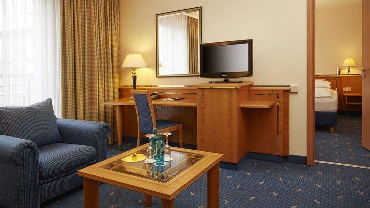 Großzügige Suiten im H+ Hotel Magdeburg