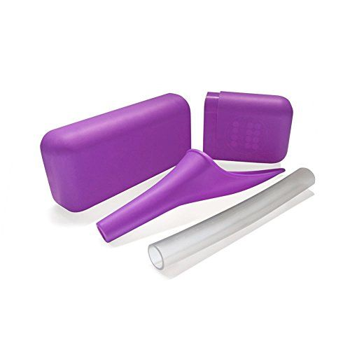 This little gem has saved Kristin from doing the potty dance more times than she can count! From hiking to dirty porta-potties this product is a must have for any girl on the go! It's small, discrete and super easy to use. So watch out boys; peeing standing up isn't just for you anymore.