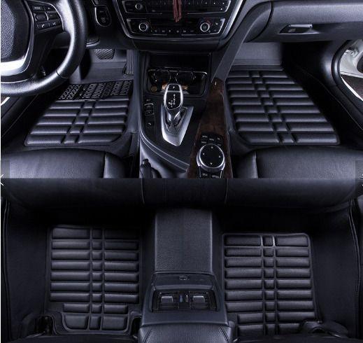 CAR FLOOR MATS SET IN BLACK PURE LUXURY ITEM - BESPOKE - ORIGINAL