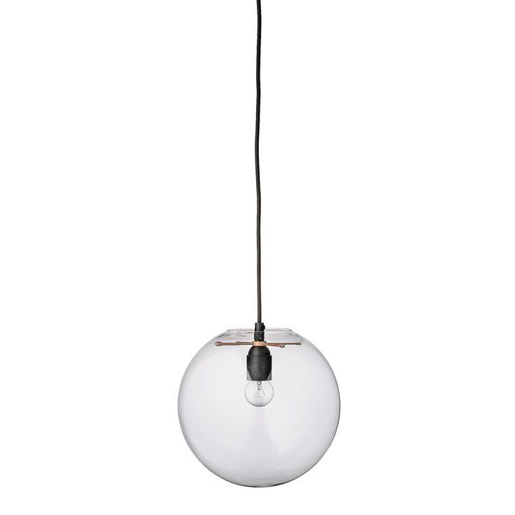 Glass Ball pendel, klar i gruppen Belysning / Lampor / Taklampor hos RUM21.se (132238)