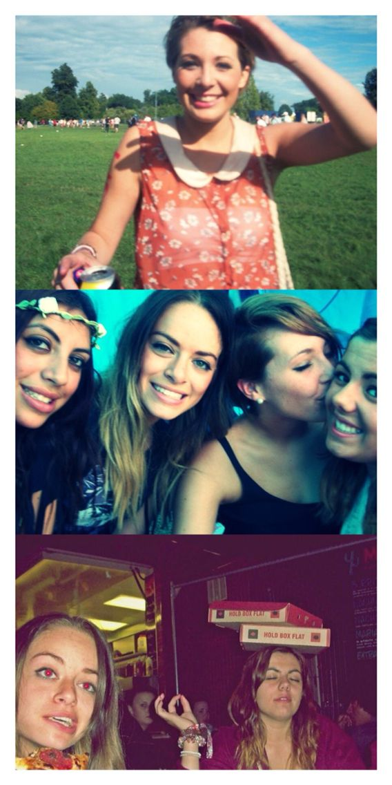 9th April- 5 years ago I went to V-Festival ☀️☔️⛺️