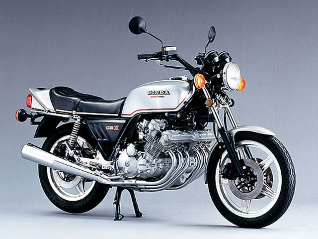 Honda CBX six-cylinder is an unforgettable impact.
