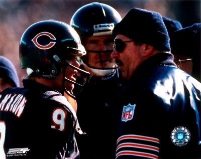 The1985 Chicago Bears 15-1 Super Bowl XX team. Some consider the '85 Bears Defense to be the finest defense ever and maybe the most famous. GO Bears!