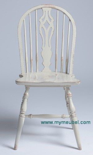 French Round Farm Chair