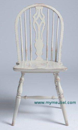French Round Farm Chair