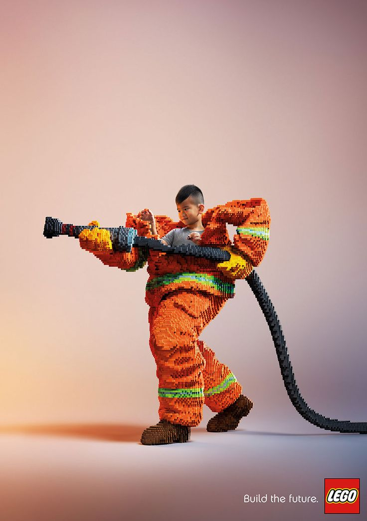 Lego's Brilliant Print Ads From the Cannes Festival – Adweek