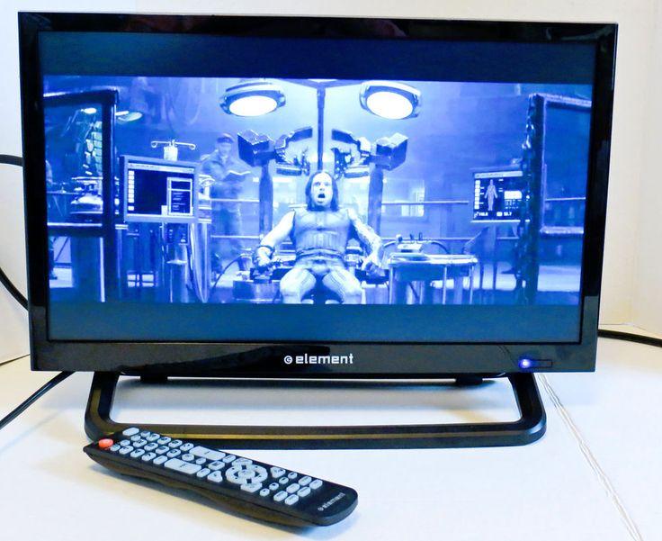 "ELEMENT ELEFW195 19"" 720P HD LED LCD TELEVISION, VGA,HDMI,COMP VID,ANALOG INPUTS #Element"
