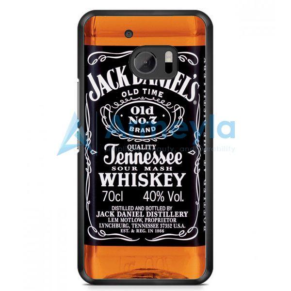 Jack Daniels Black Label HTC One M10 Case | armeyla.com