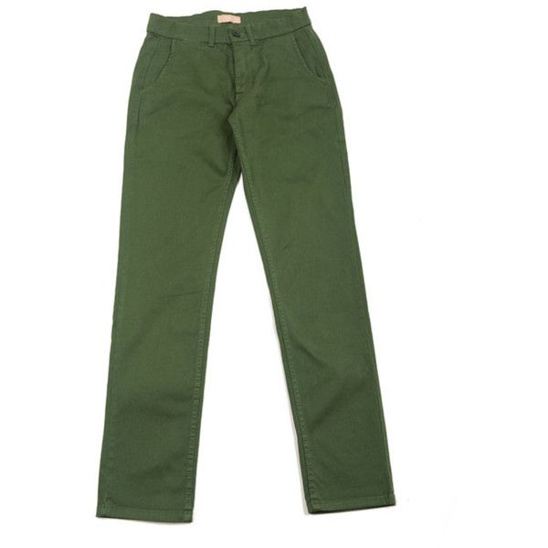Velour Dark Green Adan Chino Pants ($140) ❤ liked on Polyvore featuring men's fashion, men's clothing, men's pants, men's casual pants, mens chinos pants, mens velour pants, mens chino pants, mens stretch pants and mens dark green pants