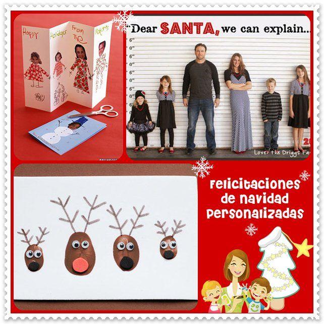 Felicitaciones de Navidad personalizadas Felicitaciones de Navidad hay muchas, pero no hay nada más bonito que recibir una felicitación de Navidad personalizada. Actualmente, lo más habitu...