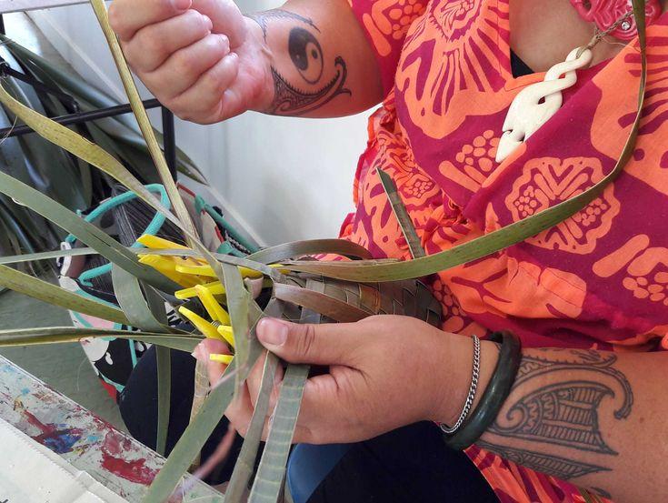 ART + CRAFT + GIFT: Intermediate Flax Weaving Weaving/Flax/Vintage Craft School/Craft/Art&Craft