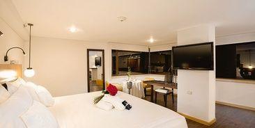 elegant rooms in the north of Bogota
