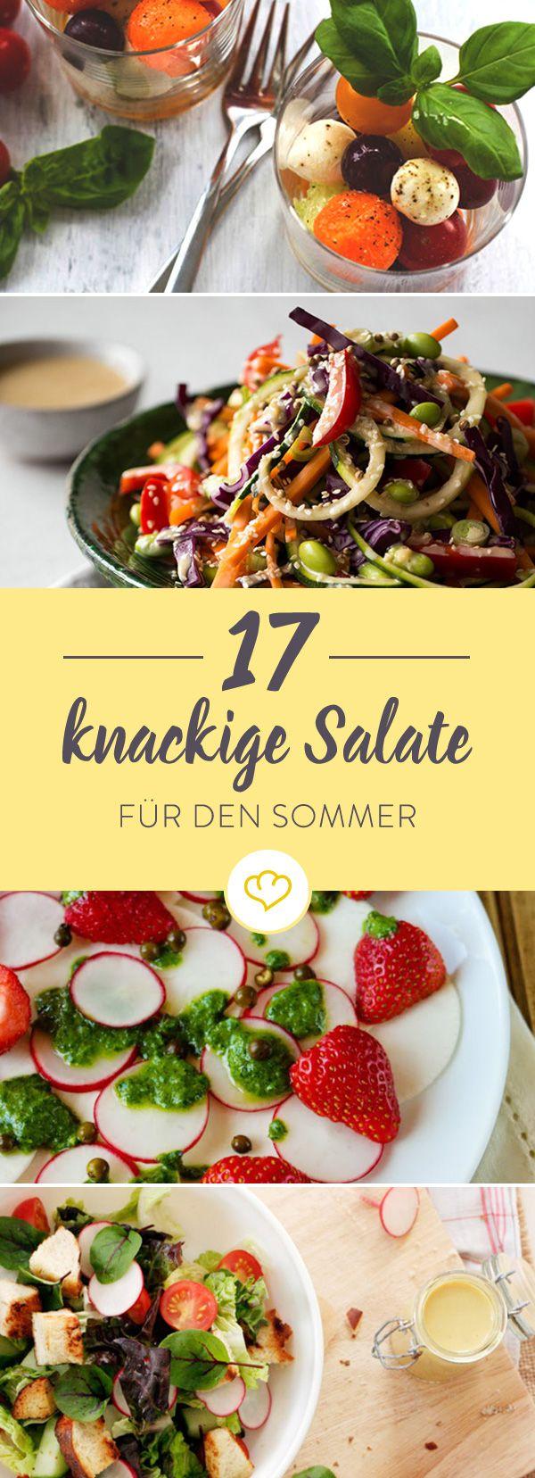 Von fruchtig bis exotisch - 15 sommerlich-leichte Salat-Rezepte, die an heißen Tagen nicht schwer im Magen liegen.