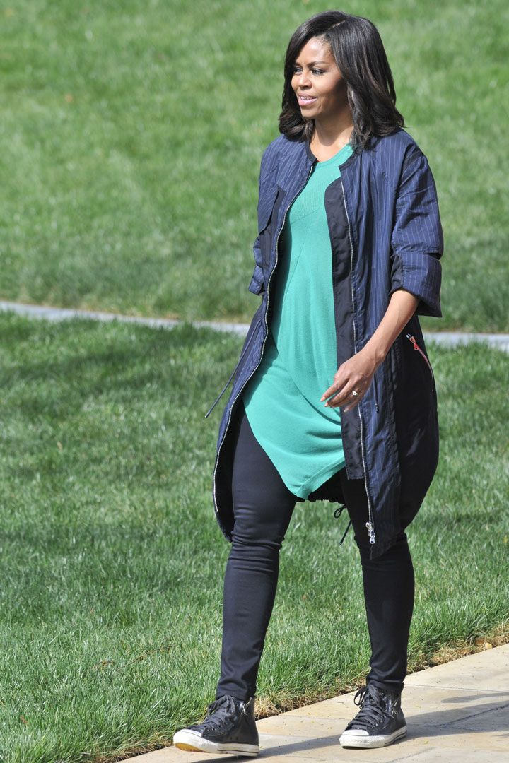 The FLOTUS Is a Pro at Nailing Casual Style Too