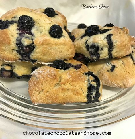 Blueberry Scones are a tricky treat to make — they should be soft and slightly moist, not dry and crumbly. A few years ago, I got tired of trying to down dry scones from the local coffee shops and took a try and making them myself. I can't remember where I got the original recipe...